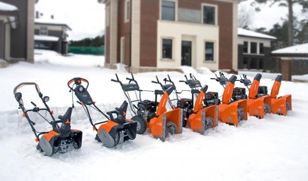 Линейка снегоуборщиков Daewoo снова в продаже!