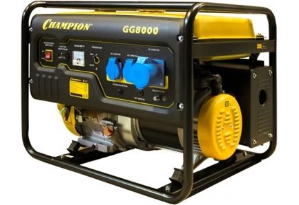 Бензиновый генератор champion gg7501e генератор