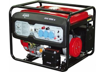 Бензиновый генератор elitech бэс 6500 р 6500