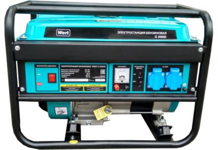 Генератор бензиновый wert g3000 штиль стабилизатор напряжения 220в для дачи