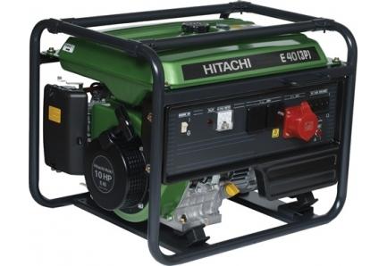 Бензиновый генератор Hitachi E 40 3P