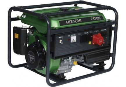 Бензиновый генератор Hitachi E 57 3P