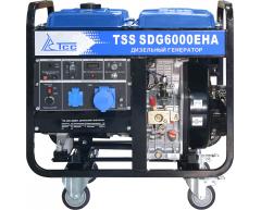 Дизельный генератор TSS SDG 6000 EH