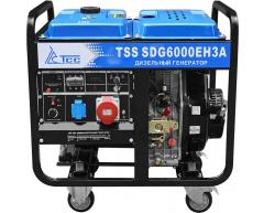 Дизельный генератор TSS SDG 6000 EH3