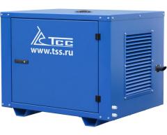 Бензиновый генератор TSS SGG 7500 E в кожухе МК-1
