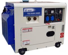 Сварочный дизельный генератор TSS DGW 200 ES