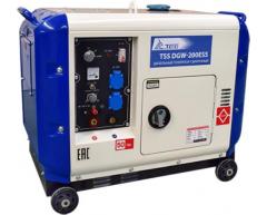 Сварочный дизельный генератор TSS DGW 200 ESS