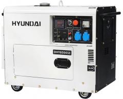 Дизельный генератор Hyundai DHY 8500 SE