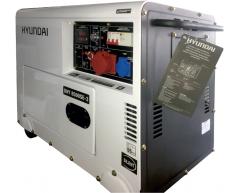 Дизельный генератор Hyundai DHY 8500 SE-3