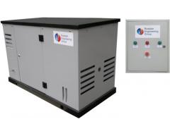 Газовый генератор REG GG 10-230 S с АВР + подогрев