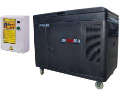 Бензиновый генератор Mitsui Power ECO ZM 12500 SE-3 с АВР