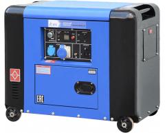 Дизельный генератор TSS SDG 5000 ES 2R