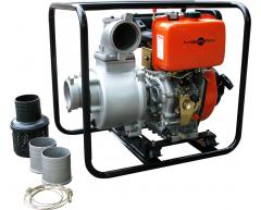 Мотопомпа дизельная MERAN MPD 401
