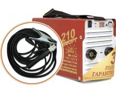 Сварочный инвертор Торус 210 + провода
