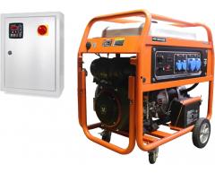 Бензиновый генератор Zongshen PB 18000 E с АВР