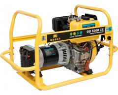 Дизельный генератор Gesht GD 5000 CE