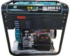 Дизельный генератор Gesht GD 8800 E3