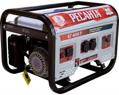 Бензиновый генератор Ресанта БГ 4000 Р