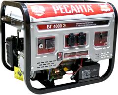 Бензиновый генератор Ресанта БГ 4000 Э