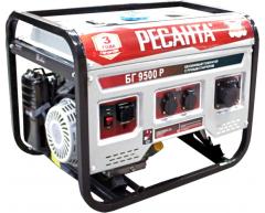 Бензиновый генератор Ресанта БГ 9500 Р