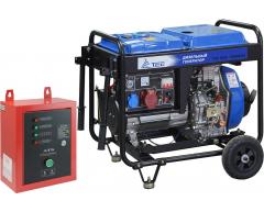 Дизельный генератор TSS SDG 7000 EH3A с АВР