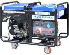 Бензиновый генератор TSS SGG 16000 EH3