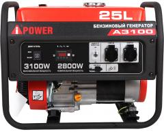 Бензиновый генератор A-iPower A 3100