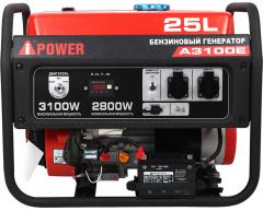 Бензиновый генератор A-iPower A 3100 E