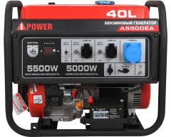 Бензиновый генератор A-iPower A 5500 EA