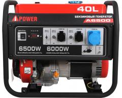 Бензиновый генератор A-iPower A 6500