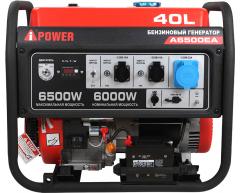 Бензиновый генератор A-iPower A 6500 EA