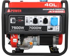 Бензиновый генератор A-iPower A 7500