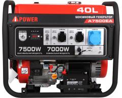 Бензиновый генератор A-iPower A 7500 EA
