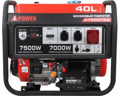 Бензиновый генератор A-iPower A 7500 TEA