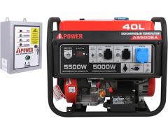 Бензиновый генератор A-iPower A 5500 EA с АВР