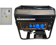 Бензиновый генератор Mitsui Power ECO ZM 14000 E-3 с АВР