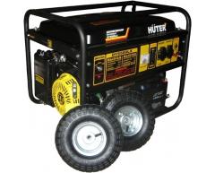 Бензиновый генератор Huter DY 6500 LX с колесами