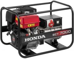 Бензиновый генератор Honda ECT 7000