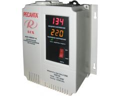 Стабилизатор напряжения электронный Ресанта АСН 1000 Н 1-Ц Lux