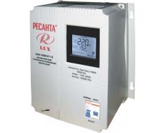 Стабилизатор напряжения электронный Ресанта АСН 5000 Н 1-Ц Lux