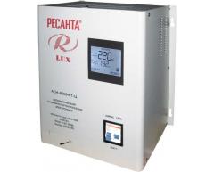 Стабилизатор напряжения электронный Ресанта АСН 8000 Н 1-Ц Lux
