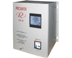 Стабилизатор напряжения электронный Ресанта АСН 10000 Н 1-Ц Lux
