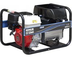 Сварочный бензиновый генератор KOHLER-SDMO VXC 200/4 C5