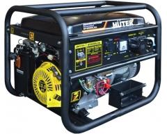Бензиновый генератор Huter DY 6500 LXA