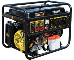 Бензиновый генератор Huter DY 8000 LX-3