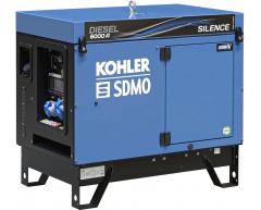 Дизельный генератор KOHLER-SDMO Diesel 6000 A Silence C5