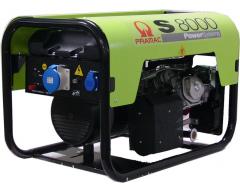 Бензиновый генератор Pramac S 8000 + коннектор