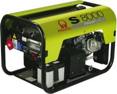 Бензиновый генератор Pramac S 8000 (3 фазы) + коннектор