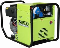 Дизельный генератор Pramac S 6500 + коннектор