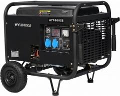 Бензиновый генератор Hyundai HY 7000 SE